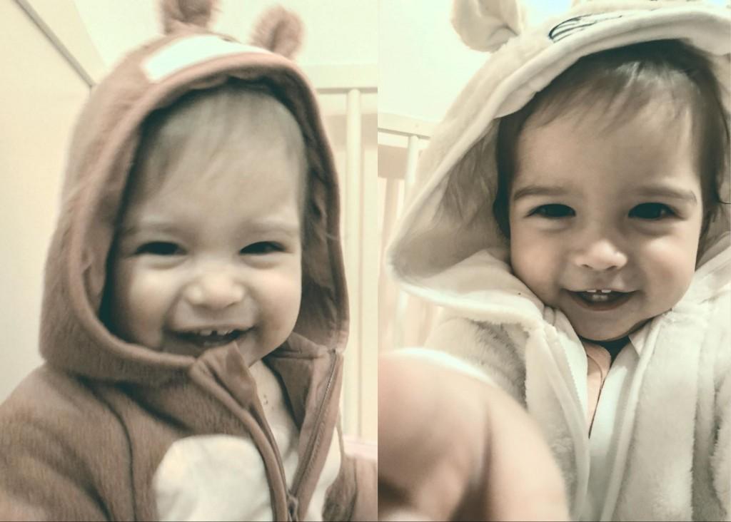 Eveline și Cristina, fiicele gemene ale lui Iby